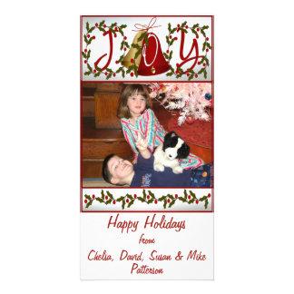 Happy Holidays Joy Card