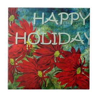 HAPPY HOLIDAYS.jpg Ceramic Tile
