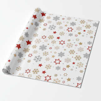 """Happy Holidays Matte Wrapping Paper, 30"""" x 6' Wrapping Paper"""