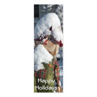 Happy Holidays Mini Business Card