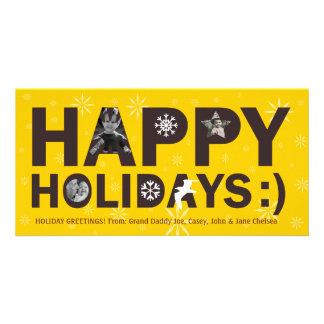Happy Holidays Photo Cards Photo Greeting Card