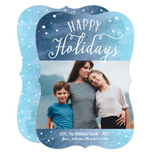 Happy Holidays | Photo Greeting Card