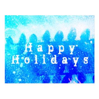 HAPPY HOLIDAYS ! POSTCARD