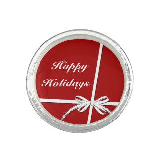 Happy Holidays Ring