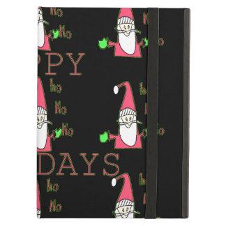 Happy Holidays Santa Hohoho! iPad Case cover