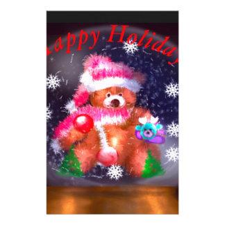 Happy Holidays Snow Globe Stationery