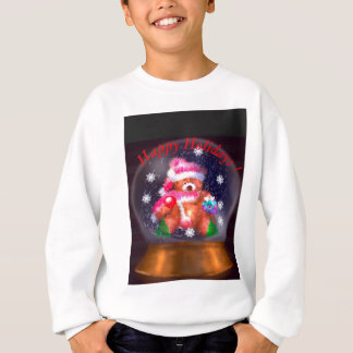 Happy Holidays Snow Globe Sweatshirt
