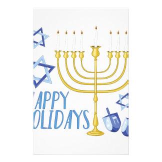 Happy Holidays Stationery Design