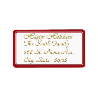 Happy Holidays Text Design