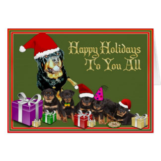 Happy Holidays to You All. Card