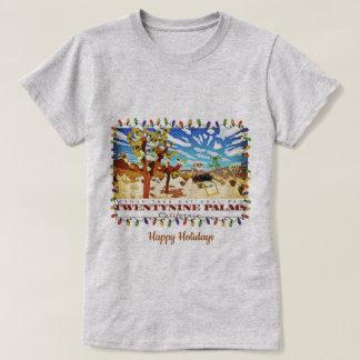 Happy Holidays Twentynine Palms Califorina T-Shirt