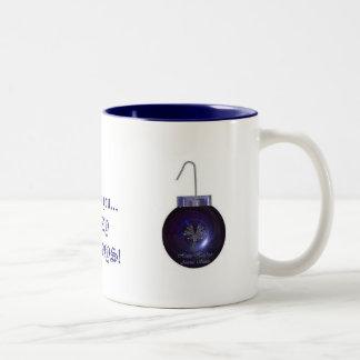Happy Holidays! Two-Tone Coffee Mug