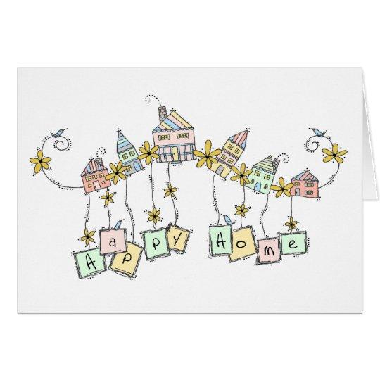 Happy Home Doodles, Housewarming Card