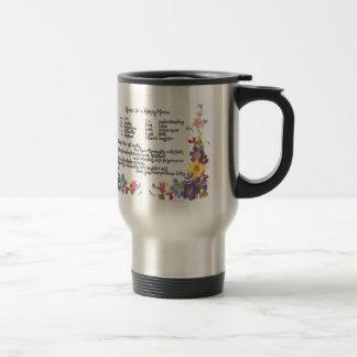 Happy Home Recipe Coffee Mug