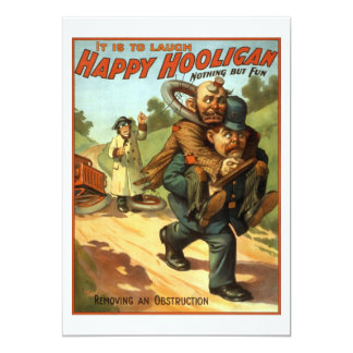Happy Hooligan - Removing an Obstruction Card
