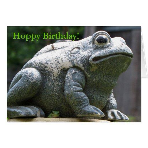 happy Hoppy Birthday Brother Frog Cards