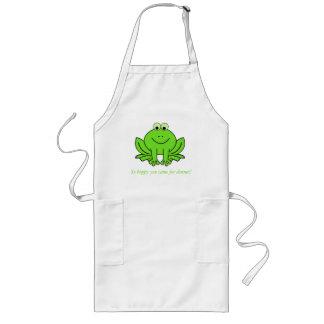 Happy Hoppy Frog Apron