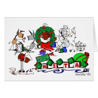 Happy Horse Farms Christmas Card