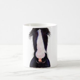 Happy Horse ' JeFF ' by Shirley MacArthur Coffee Mug