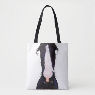 Happy Horse ' JeFF ' by Shirley MacArthur Tote Bag