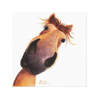 Happy Horse ' MAD MAX ' on Canvas Print