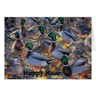 Happy Hour Birthday Wishes Card