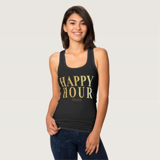 Happy Hour- Black Tank