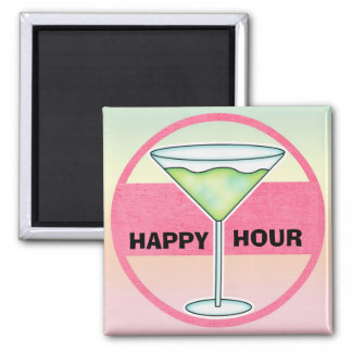 Happy Hour Cocktail Moments Magnet