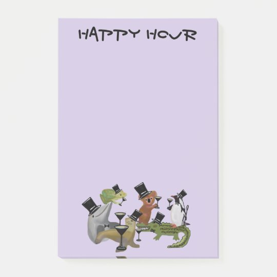Happy Hour Post-it® Notes