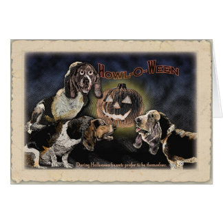 Happy Howl-o-ween Card