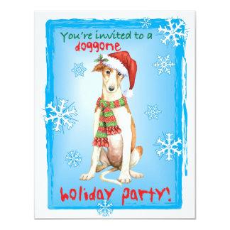 Happy Howliday Borzoi Card