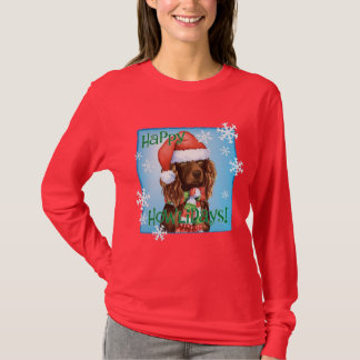 Happy Howliday Boykin Spaniel T-Shirt