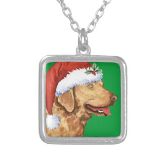 Happy Howliday Chessie Silver Plated Necklace