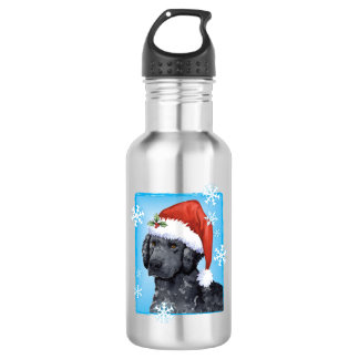 Happy Howliday Curly-Coated Retriever 532 Ml Water Bottle