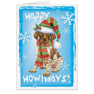 Happy Howliday GSP Card