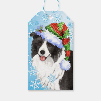 Happy Howlidays Border Collie Pack Of Gift Tags