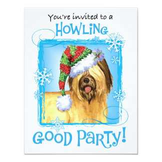 Happy Howlidays Briard Card
