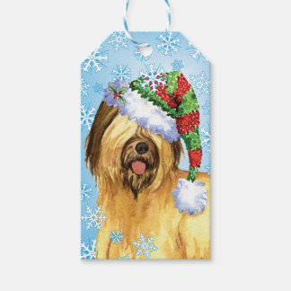 Happy Howlidays Briard Pack Of Gift Tags