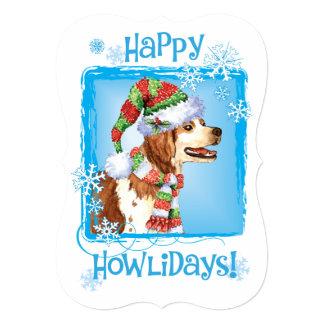 Happy Howlidays Brittany Card