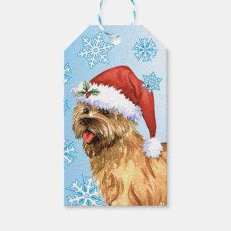 Happy Howlidays Cairn Terrier Gift Tags