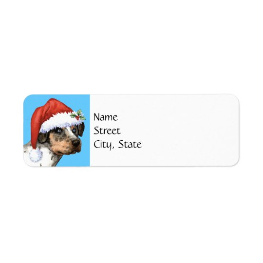 Happy Howlidays Catahoula Return Address Label