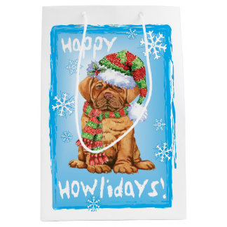 Happy Howlidays Dogue Medium Gift Bag