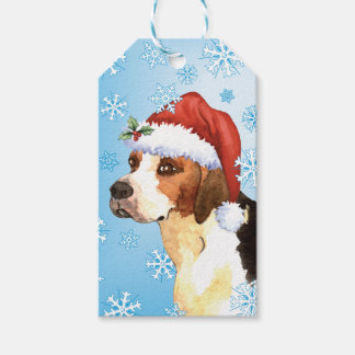 Happy Howlidays English Foxhound Pack Of Gift Tags