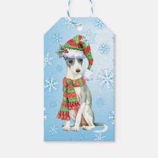 Happy Howlidays Italian Greyhound Pack Of Gift Tags