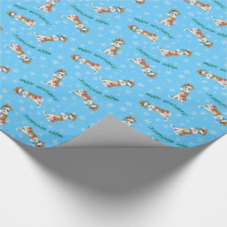 Happy Howlidays Italian Greyhound Wrapping Paper