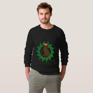Happy Howlidays Men's Raglan Sweatshirt