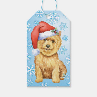 Happy Howlidays Norwich Terrier Pack Of Gift Tags