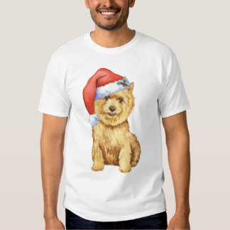 Happy Howlidays Norwich Terrier Tee Shirt