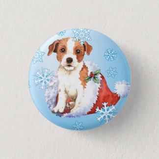 Happy Howlidays Parson Russell Terrier 1 Inch Round Button