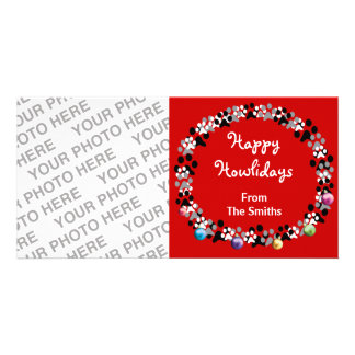 Happy Howlidays Personalized Photo Card